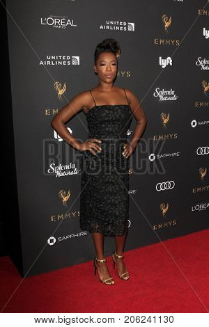 LOS ANGELES - SEP 15:  Samira Wiley at the 69th Primetime Emmy Awards Performers Nominee Reception at the Wallis Annenberg Center for the Performing Arts on September 15, 2017 in Beverly Hills, CA
