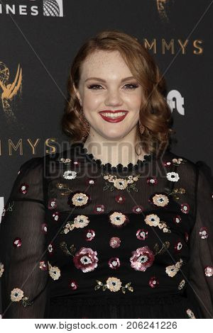 LOS ANGELES - SEP 15:  Shannon Purser at the 69th Primetime Emmy Awards Performers Nominee Reception at the Wallis Annenberg Center for the Performing Arts on September 15, 2017 in Beverly Hills, CA