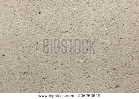 Rough unpainted concrete wall. Background texture.
