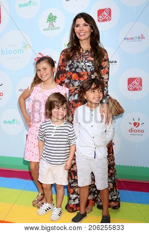 LOS ANGELES - SEP 23:  Estela, Valentin, Ali Landry, Marcelo Monteverde at the 6th Annual Red CARpet Safety Awareness Event at the Sony Pictures Studio on September 23, 2017 in Culver City, CA