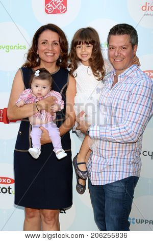 LOS ANGELES - SEP 23:  Jenni Pulos, Georgia Nassos, Alianna Nassos, Jonathan Nassos at the Red CARpet Safety Awareness Event at the Sony Pictures Studio on September 23, 2017 in Culver City, CA