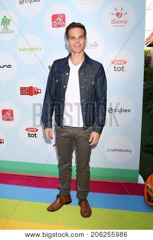 LOS ANGELES - SEP 23:  Greg Rikaart at the 6th Annual Red CARpet Safety Awareness Event at the Sony Pictures Studio on September 23, 2017 in Culver City, CA