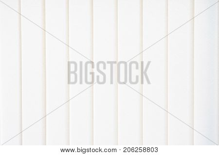fabric blind against sun light on window Blind background and texture