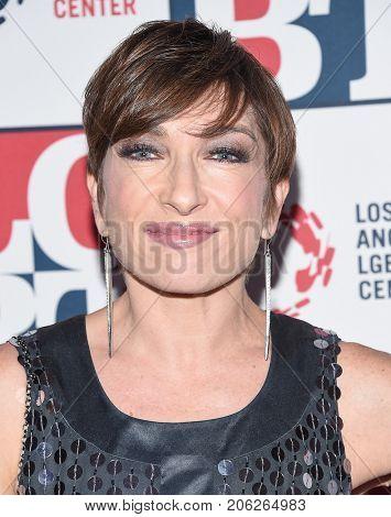 LOS ANGELES - SEP 24:  Naomi Grossman arrives for the LGBT Center's Vanguard Awards 2017 on September 24, 2017 in Beverly Hills, CA