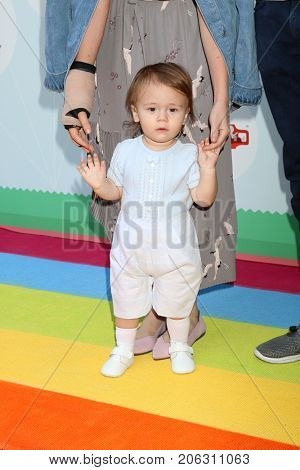 LOS ANGELES - SEP 23:  Hayden Hendricks at the 6th Annual Red CARpet Safety Awareness Event at the Sony Pictures Studio on September 23, 2017 in Culver City, CA