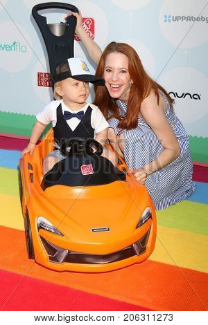 LOS ANGELES - SEP 23:  Lennox Lockwood, Amy Davidson at the 6th Annual Red CARpet Safety Awareness Event at the Sony Pictures Studio on September 23, 2017 in Culver City, CA