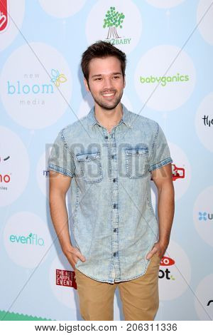 LOS ANGELES - SEP 23:  Nathan Kress at the 6th Annual Red CARpet Safety Awareness Event at the Sony Pictures Studio on September 23, 2017 in Culver City, CA