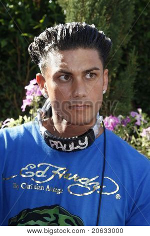 LOS ANGELES - JUL 11:  Pauly D DelVecchio spins tunes at the KIIS-FM 'Now 34 and The Jersey Shore' party on July 11, 2010 at Hollywood Tower, Los Angeles, California.