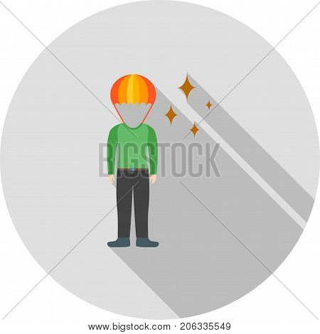 Brilliant, person, professional icon vector image. Can also be used for Personality Traits. Suitable for web apps, mobile apps and print media.