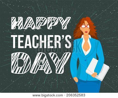 Happy Teachers Day Celebration Banner