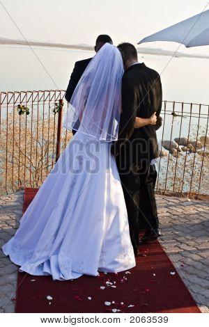 frisch verheirateten paar