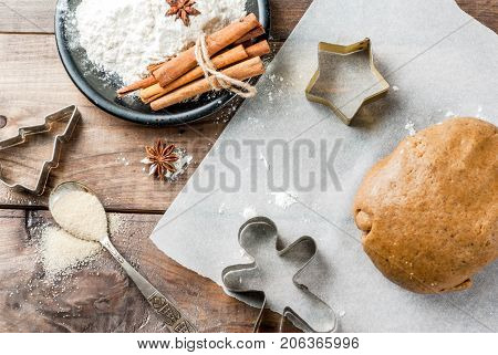 Cooking Homemade Gingerbread