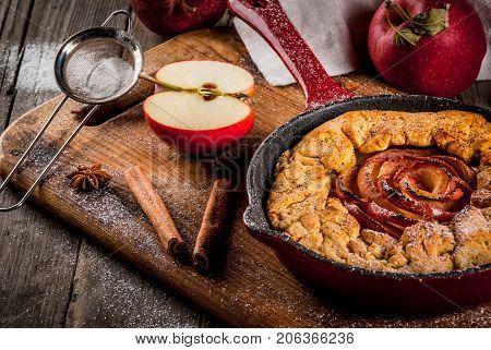 Wholegrain Apple Galette Pie