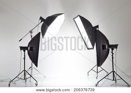 Backstage From Studio Shooting