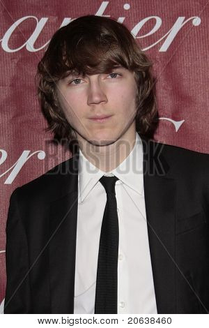 PALM SPRINGS - Jan 6:  Paul Dano attends the 20th Palm Springs Film Festival Gala on January 6, 2009 in Palm Springs, California.