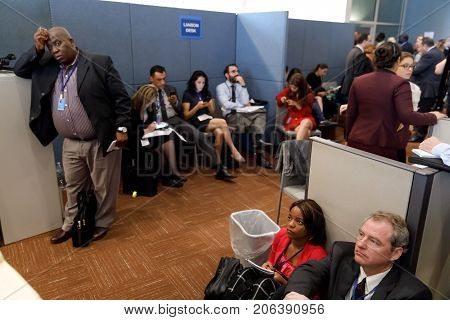 Work Of Journalists During The Un General Assembly