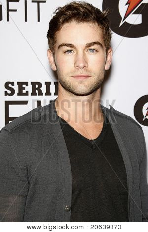 LOS ANGELES - APR 12:  Chace Crawford at the 'Gatorade G Series Fit Launch Event' at the SLS Hotel in Los Angeles, California on April 12, 2011.