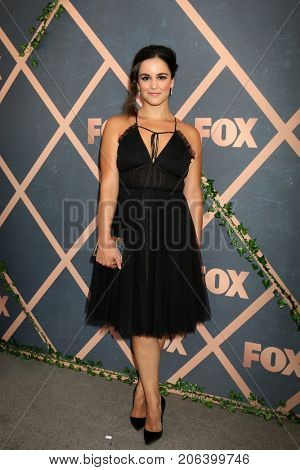 LOS ANGELES - SEP 25:  Melissa Fumero at the FOX Fall Premiere Party 2017 at the Catch on September 25, 2017 in West Hollywood, CA