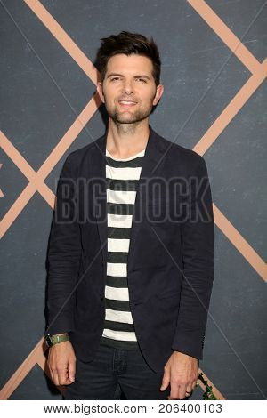 LOS ANGELES - SEP 25:  Adam Scott at the FOX Fall Premiere Party 2017 at the Catch on September 25, 2017 in West Hollywood, CA