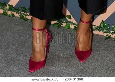 LOS ANGELES - SEP 25:  Michelle Mitchenor (shoe detail) at the FOX Fall Premiere Party 2017 at the Catch on September 25, 2017 in West Hollywood, CA