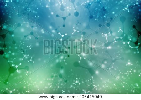 ECG Background, Medical abstract background, medical structure background