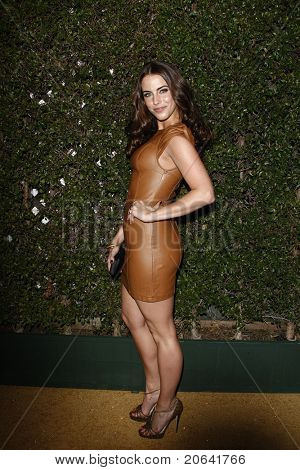 WEST HOLLYWOOD, CA - JAN 5:  Jessica Lowndes at the COVERGIRL 50th Anniversary Celebration at BOA Steakhouse held on January 5, 2011 in West Hollywood, California.