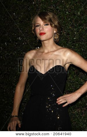 WEST HOLLYWOOD, CA  - JAN 5:  Taylor Swift at the COVERGIRL 50th Anniversary Celebration at BOA Steakhouse held on January 5, 2011 in West Hollywood, California.