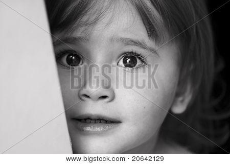 Sad Little Girl