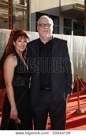 LOS ANGELES - MAY 2:  Patricia Tallman, J. Michael Straczynski at the premiere of Thor at the El Capitan Theater, Los Angeles, California on May 2, 2011.