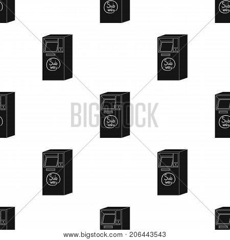 Apparatus, single icon in black style.Apparatus vector symbol stock illustration .