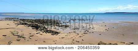 Panorama of Hervey Bay, Queensland, Australia