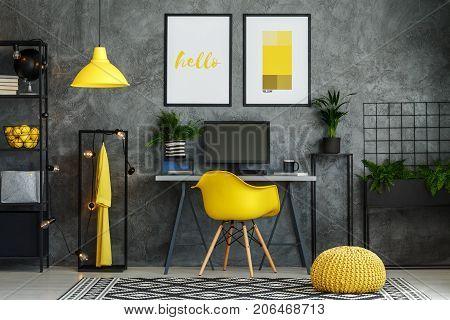 Scandinavian Style Home Office
