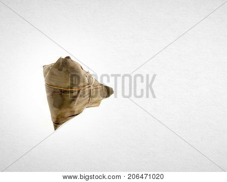 Dumpling Or Chinese Rice Dumpling On A Background.