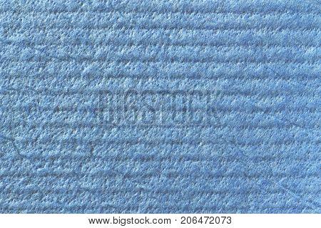 Texture Of Cellulose. Blue Cellulose
