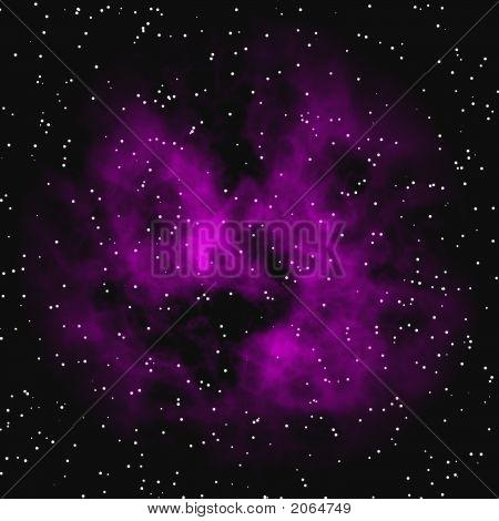 Purple Matter In Space