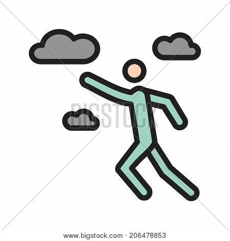 Ambitious, professional, work icon vector image. Can also be used for Personality Traits. Suitable for web apps, mobile apps and print media.
