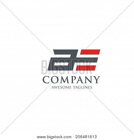 strong design of letter AE ,letter A logo, letter E logo,modern sport logo vector