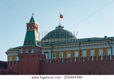The Kremlin Senate is a building within the grounds of the Moscow Kremlin in Russia
