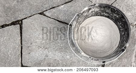 Background With Flagstones