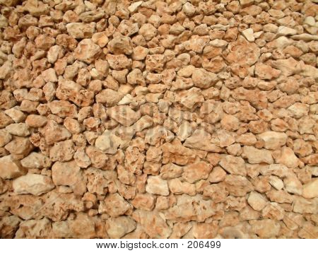 Wall With Small Rock