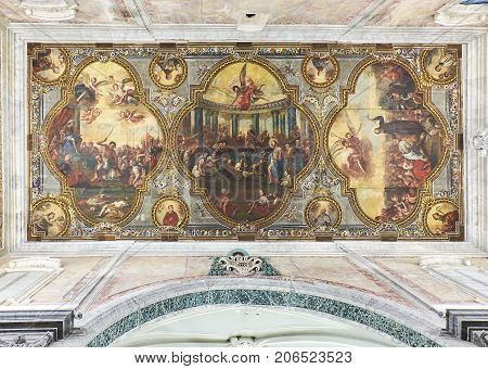 Basilica Minore Concattedrale Di Santa Maria Assunta. Ostuni, Apulia, Italy.
