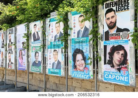 Italy Political Posters