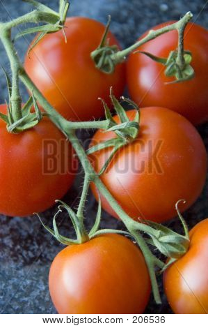 Clustered Tomatoes