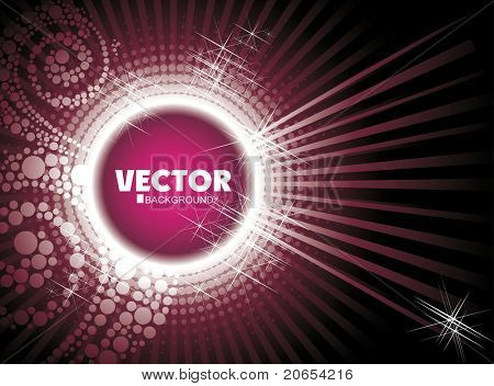 glowing bright background poster