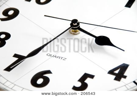 Face Of Clock, Detail