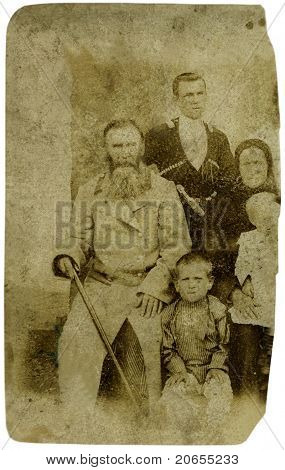 Old Russian Photo