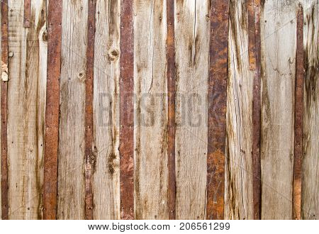 abstract background of old wooden fence . Photo of an abstract texture