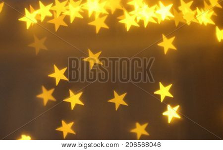yellow lights, yellow stars, little star, small star, light effect
