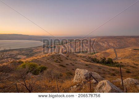 Nachal (stream) Samach And The Golan Heights