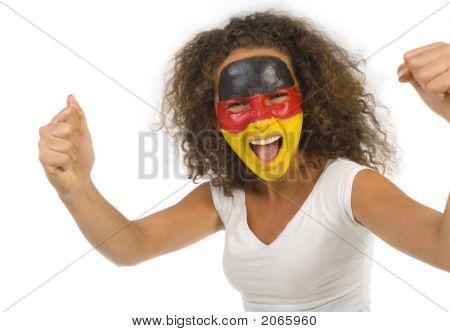 Crazy German Fan